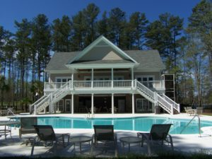 Harbour Watch Community Clubhouse and Pool on Lake Murray
