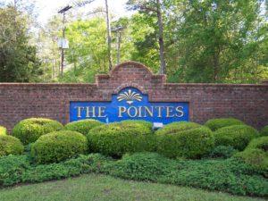 Entrance Sign at Plantation Pointe on Lake Murray