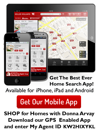 Download My GPS Enabled Keller Williams Realty Mobile App. Shop for Homes with Donna Arvay!
